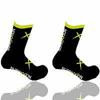 Шкарпетки Nutrixxion чорні з CoolMax, XL (46-48)