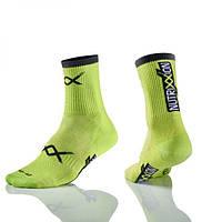 Шкарпетки Nutrixxion зелені з CoolMax, M (40-42)