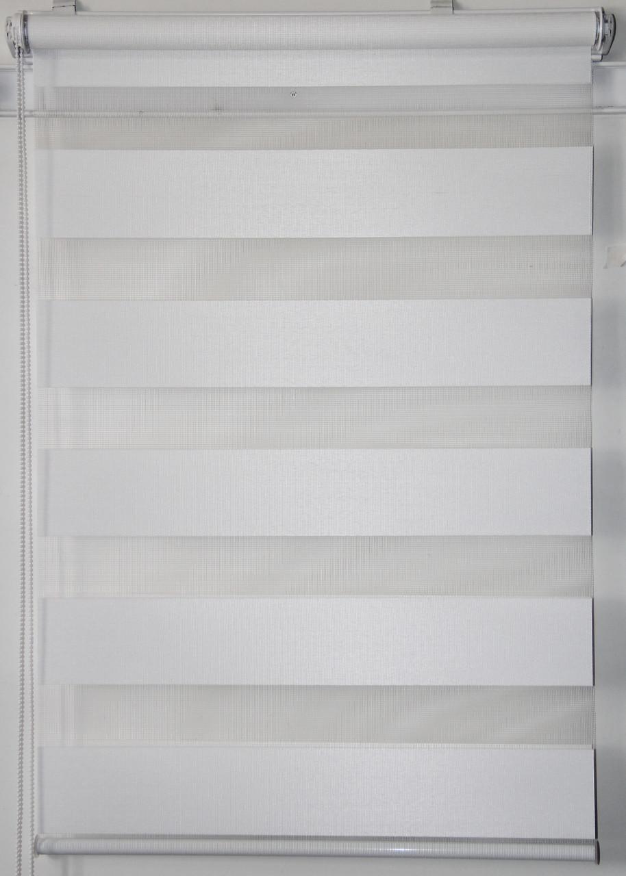 Готові рулонні штори Тканина Z-066 Білий