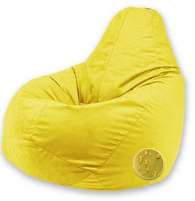 Кресло Мешок Пуфик Груша Оксфорд Большой размер Желтый