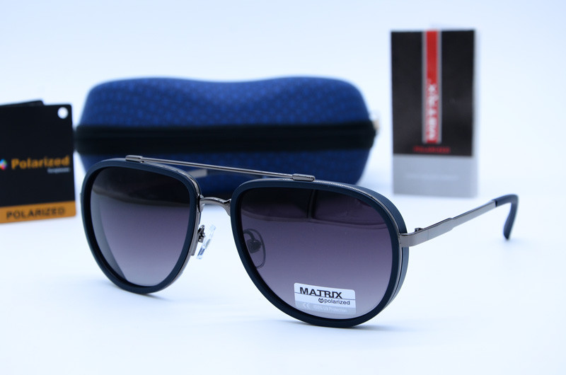 Солнцезащитные мужские очки Авиатор Matrix 8578 А570