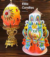 Шикарный рабор свечей на Пасху
