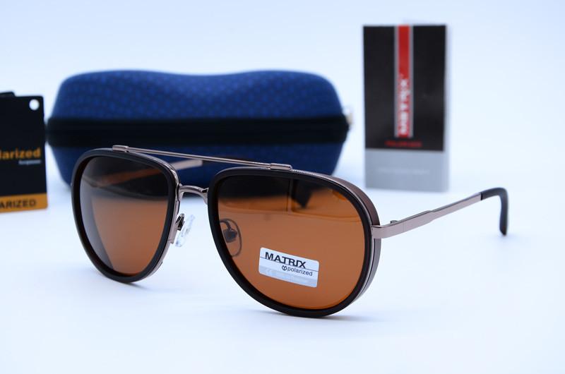 Солнцезащитные мужские очки Авиатор Matrix 8578 с8