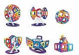 Конструктор Limo Toy магнітний великі двосторонні деталі (46 Деталей), фото 2