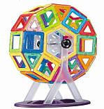 Конструктор Limo Toy магнітний великі двосторонні деталі (46 Деталей), фото 3