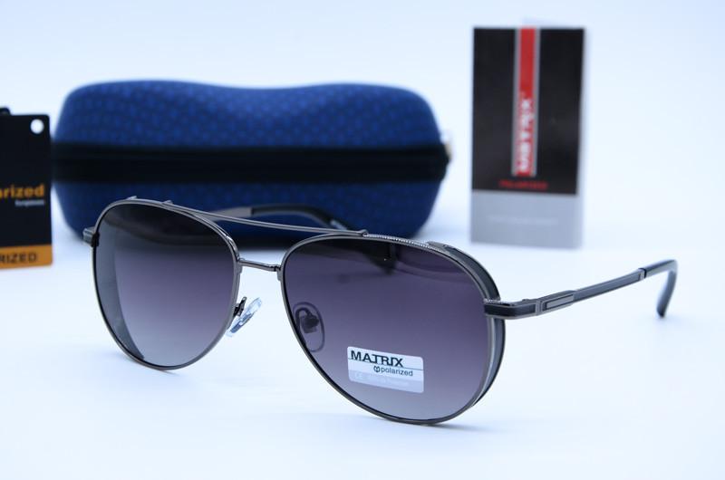 Сонцезахисні чоловічі окуляри Авіатор Matrix 8582 с2-Р77