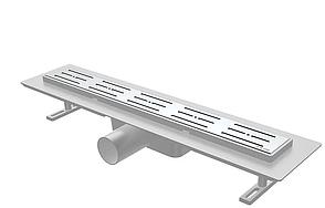 Душовий канал з решіткою з нержавіючої сталі з майданчиком під керамічну плитку NOVA 5204 (700 мм х 65 мм), фото 2