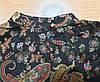 Женская закрытая блуза с узорами (42-50), фото 2