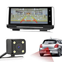 K6 HD 1080P 7 дюймов IPS Авто Видеорегистратор Смарт-зеркало заднего вида Видеозапись камера Приборная панель