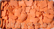 """Посипка фігурна """"Метелики Світло-Оранжеві"""""""