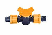 Кран краплинної стрічки 16-17 мм (стрічка-стрічка) Aquapulse
