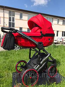 Дитяча універсальна коляска 2 в 1 Junama Diamond S-line Sport Red