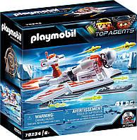 Плеймобил Playmobil 70234 Планер шпионской команды Spy Team Frisbee