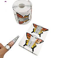 Форма для наращивания ногтей Бабочка 300 штук