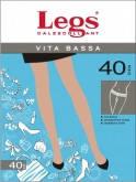 Колготки с низкой талией Legs   VITA BASSA 40