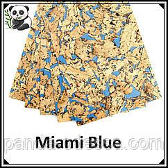 Коркові панелі (шпалери) Miami Blue TM Egen 600*300*3 мм