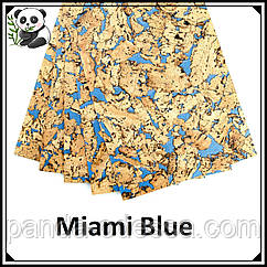 Пробковые панели (обои) Miami Blue TM Egen 600*300*3 мм