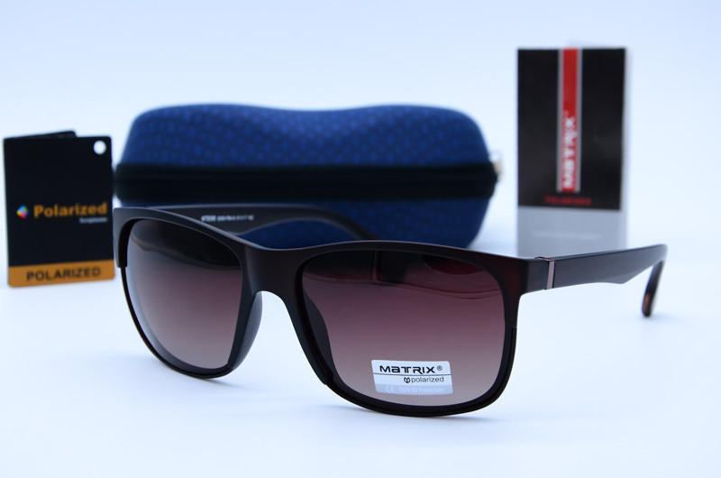 Сонцезахисні чоловічі окуляри Клабмастер Matrix 8596 S008