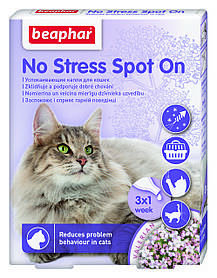 Успокаивающий ошейник для кошек Beaphar No Stress Collar 35 см