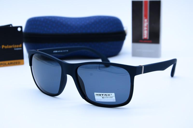 Солнцезащитные мужские очки Клабмастер Matrix 8596 син
