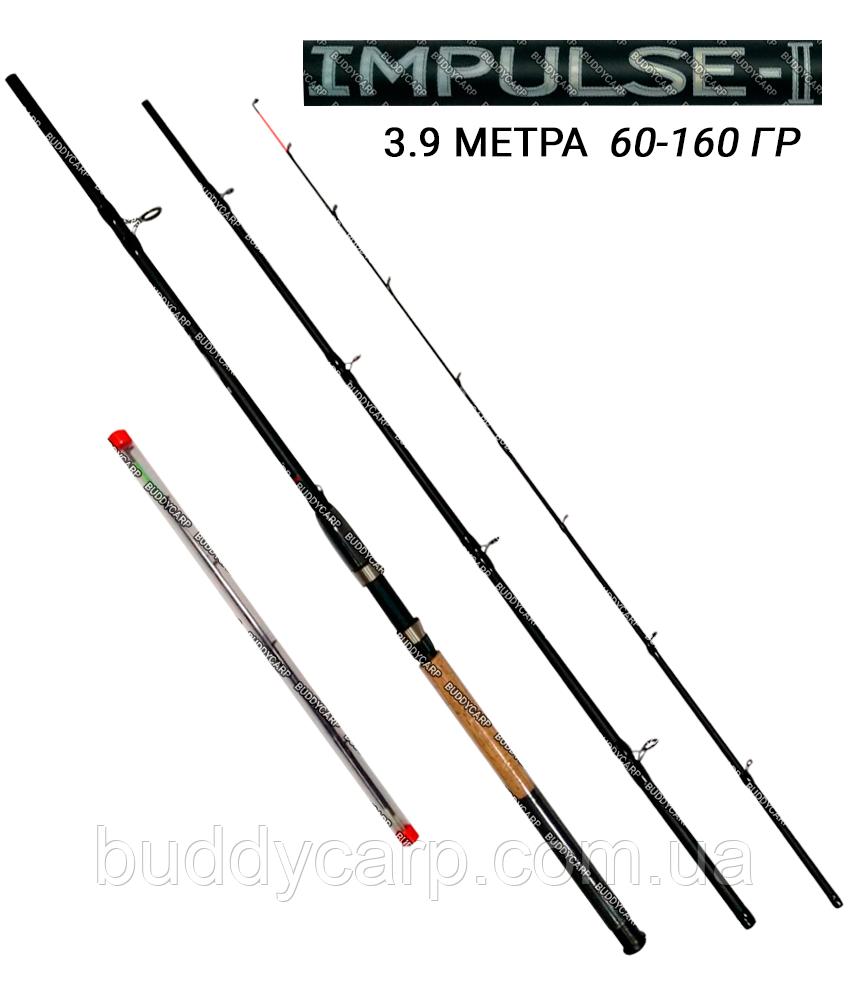 Фидерное удилище 3.9 метра тест 60-160 гр Impulsе-2 Weida (Kaida)