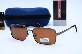 Солнцезащитные мужские прямоугольные очки Matrix 8615 с48-90