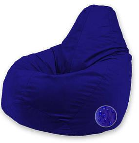 Кресло-груша Оксфорд Маленький размер S (90x60см), Синий Электрик