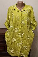 Плаття-рубашка батал 2, фото 1