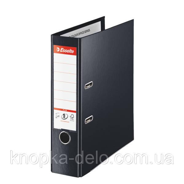 Папка-регистратор Esselte No.1 Power VIVIDA Plus 80 мм, чорный, арт. 81187