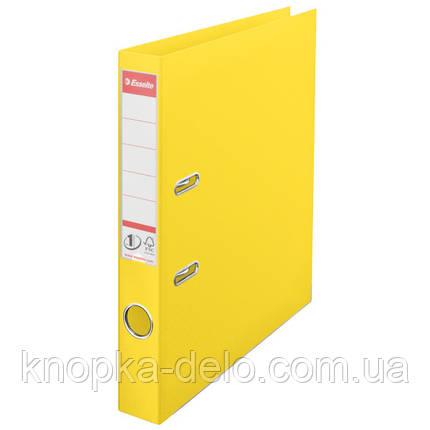 Папка-реєстратор Esselte No.1 Power А4 50мм жовтий, арт.811410, фото 2