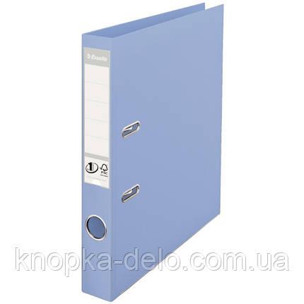 """Папка-регистратор Esselte No.1 Solea А4 50мм цвет """"синий"""" арт. 231041, фото 2"""