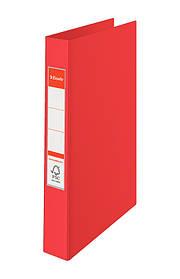 Папка-регистратор Esselte А4, 2 кольца 25мм, красная, арт. 14451
