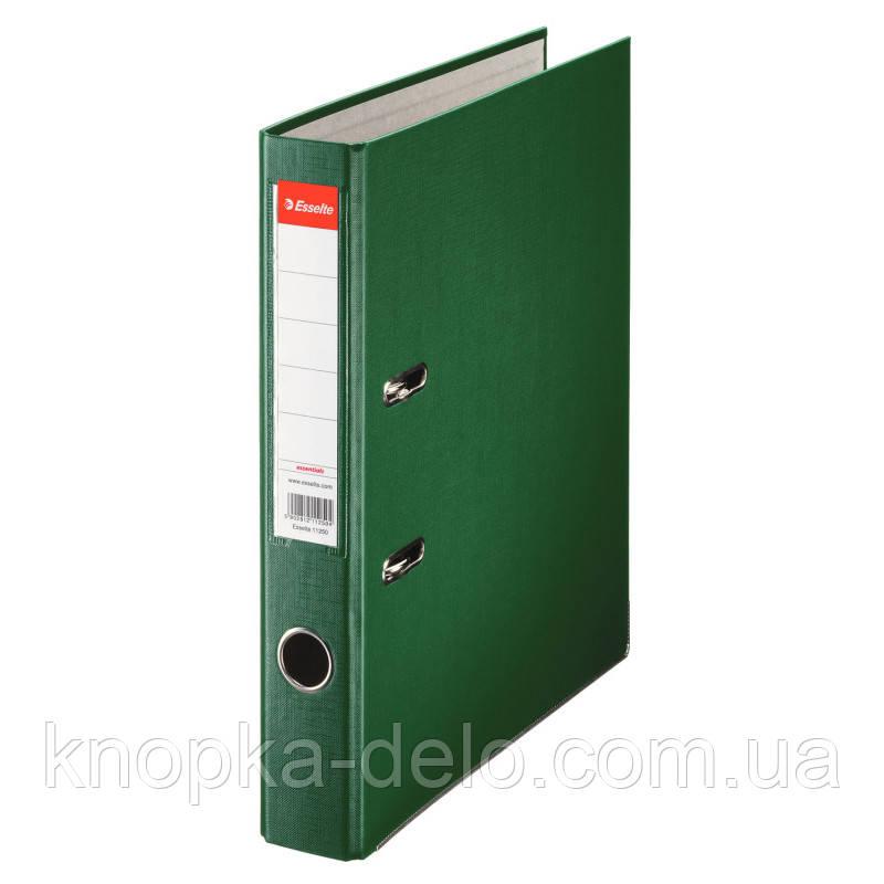 Папка-регистратор Esselte ECO А4 50мм , зеленая, арт. 81196