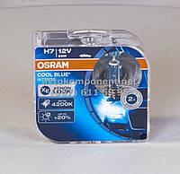 Лампа фарная H7 12V 55W PX26d Cool Blue Intense Hard DuoPET (2 шт) (производство OSRAM) (арт. 64210CBI-HCB-DUO), ACHZX