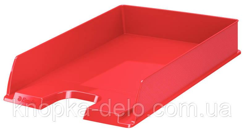 Горизонтальный лоток Esselte Europost VIVIDA, цвет красный, арт. 623607, фото 2
