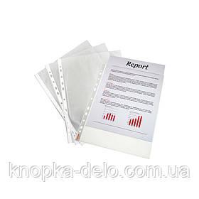 Файл Esselte Economy A5 PP 43мкм  100шт. Прозрачный, арт. 23782