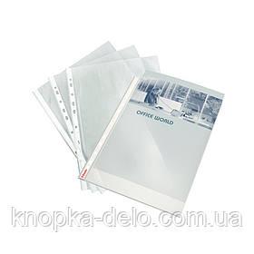 Файл Esselte Premium A4 PP 105мкм  10шт. Прозрачный, арт. 56091