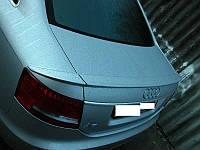 Лип спойлер (сабля) Audi A6 C6 (3 части), Ауди А6 Ц6