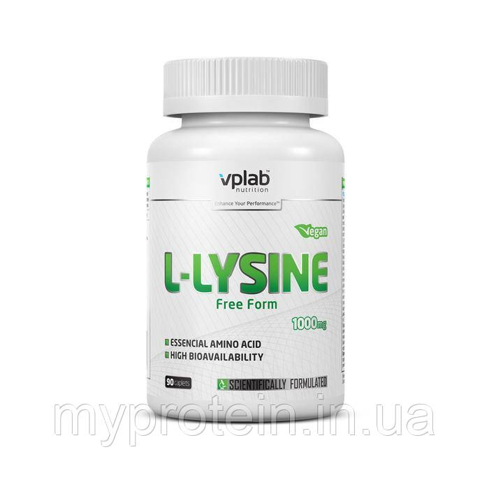VP LabЛ-лизин L-Lysine 1000 mg90 caplets