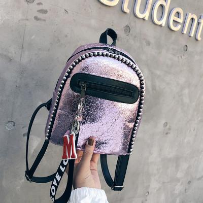Женский рюкзак розовый Love