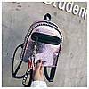 Женский рюкзак розовый Love, фото 9