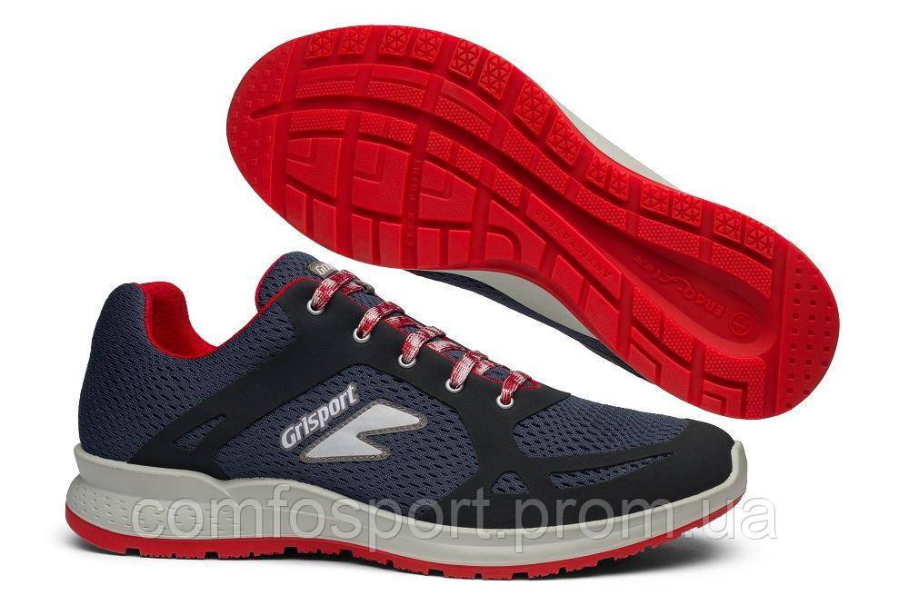 Летние кроссовки Grisport 42805 ErgoFlex синие с красным