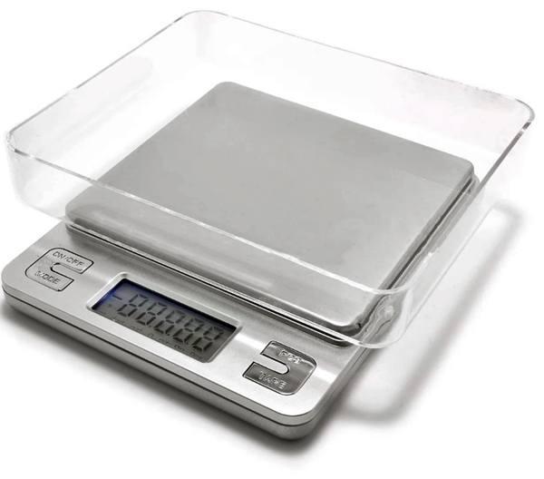 Весы ювелирные KS-386, 3 кг (0.1г), аптечные весы