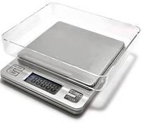 Ваги ювелірні KS-386, 3кг (0.1 г), аптечні ваги
