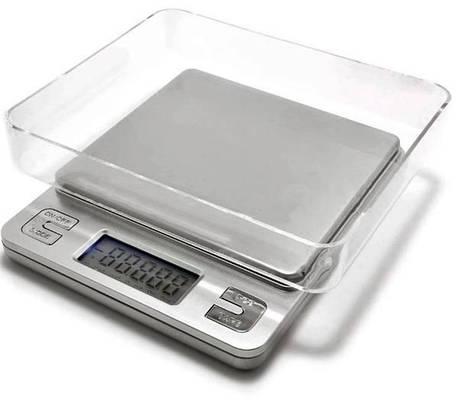 Весы ювелирные KS-386, 3 кг (0.1г), аптечные весы, фото 2