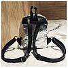 Женский рюкзак серебристый Love, фото 8