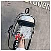 Женский рюкзак серебристый Love, фото 7