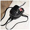 Женский рюкзак черный Love, фото 3