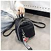 Женский рюкзак черный Love, фото 5