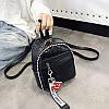 Женский рюкзак черный Love, фото 6